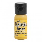 Tim Holtz Flip Top Distress Paint: Mustard Seed - TDF53125