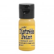 Tim Holtz Flip Top Distress Paint, Mustard Seed - TDF53125