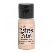 Tim Holtz Flip Top Distress Paint: Tattered Rose - TDF53316