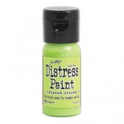 Tim Holtz Flip Top Distress Paint: Twisted Citron - TDF50216