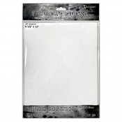 Tim Holtz Distress White Heavystock TDA76322