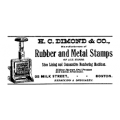 Tim Holtz Wood Mounted Stamp - Stamps Ad E2-1650