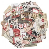 Tim Holtz Idea-ology Ephemera: Snippets - TH93564