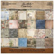 Tim Holtz Idea-ology Etcetera Mini Paper Stash - TH93551