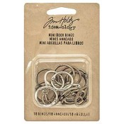 Tim Holtz Idea-ology Mini Book Rings - TH93272