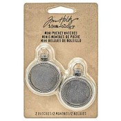 Tim Holtz Idea-ology Mini Pocket Watches - TH93274