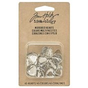 Tim Holtz Idea-ology Mirrored Hearts - TH93269