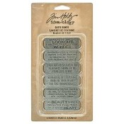 Tim Holtz Idea-ology Quote Bands - TH93290