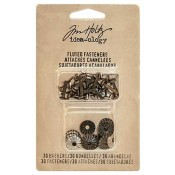 Tim Holtz Idea-ology Fluted Fasteners - TH93273