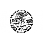 Tim Holtz Wood Mounted Stamp - Thread 1 G1-1666