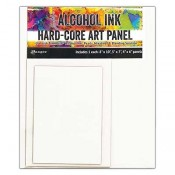 Tim Holtz Alcohol Ink Hard-Core Art Panel: Rectangle Pack TAC66910