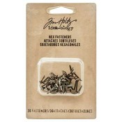 Tim Holtz Idea-ology Hex Fasteners - TH93268