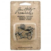 Tim Holtz Idea-ology Adornments: Treasures - TH93572