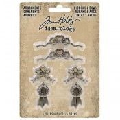 Tim Holtz Idea-ology Adornments: Ribbons and Bows - TH93686