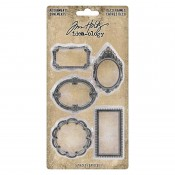 Tim Holtz Idea-ology Adornments: Deco Frames - TH93792