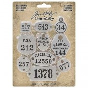Tim Holtz Idea-ology Adornments: Foundry - TH93690