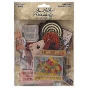 Tim Holtz Idea-ology Baseboards: Junk Drawer TH94044