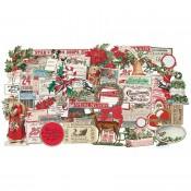 Tim Holtz Idea-ology: Christmas Ephemera TH94086