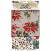Tim Holtz Idea-ology: Christmas Worn Wallpaper TH94088