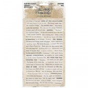 Tim Holtz Idea-ology Clipping Stickers: Christmas TH93754
