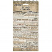 Tim Holtz Idea-ology: Clippings Sticker Book - TH94030