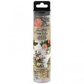 Tim Holtz Idea-ology: Floral Collage Paper - TH93707