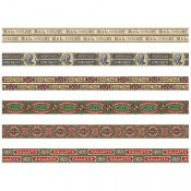 Tim Holtz Idea-ology Design Tape: Humidor - TH93675