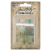 Tim Holtz Idea-ology Textiles: Fabric Tape TH94041