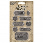 Tim Holtz Idea-ology: Factory Tags TH94039