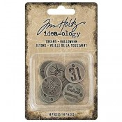 Tim Holtz Idea-ology: Halloween Tokens - TH93721