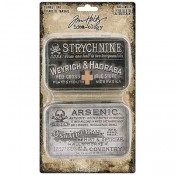 Tim Holtz Idea-ology: Halloween Trinket Tins TH93726