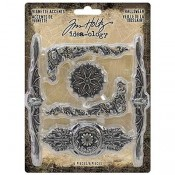 Tim Holtz Idea-ology: Vignette Accents, Halloween TH93730