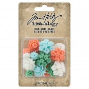 Tim Holtz Idea-ology: Heirloom Florals TH94040