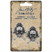 Tim Holtz Idea-ology Adornments: Jolly Roger TH93731