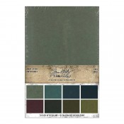 Tim Holtz Idea-ology: Kraft Stock Stack, Cool TH94110