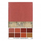 Tim Holtz Idea-ology: Kraft Stock Stack, Warm TH94112
