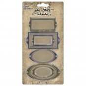 Tim Holtz Idea-ology: Label Frames - TH94052