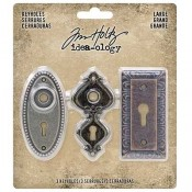Tim Holtz Idea-ology: Large Keyholes - TH93678