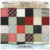 Tim Holtz Idea-ology Paper Stash: Christmas TH93739