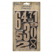 Tim Holtz Idea-ology: Number Blocks - TH94037