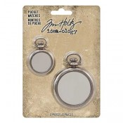 Tim Holtz Idea-ology Pocket Watches: TH93960