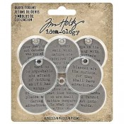 Tim Holtz Idea-ology: Quote Tokens - TH93691