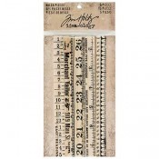 Tim Holtz Idea-ology Ruler Pieces - TH93565