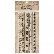 Tim Holtz Idea-ology: Ruler Pieces - TH93565D
