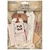 Tim Holtz Idea-ology: Salvaged Tags TH94048