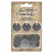 Tim Holtz Idea-ology: Thought Tokens - TH94024
