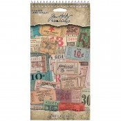 Tim Holtz Idea-ology: Ticket Book - TH94036