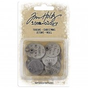 Tim Holtz Idea-ology: Christmas Tokens TH93997