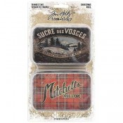 Tim Holtz Idea-ology: Christmas Trinket Tins TH93761