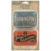 Tim Holtz Idea-ology: Trinket Tins - TH93698